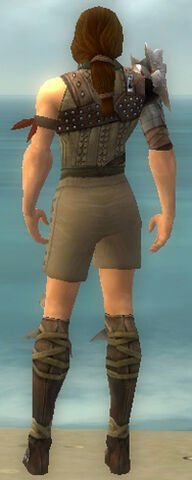 File:Ranger Studded Leather Armor M gray chest feet back.jpg