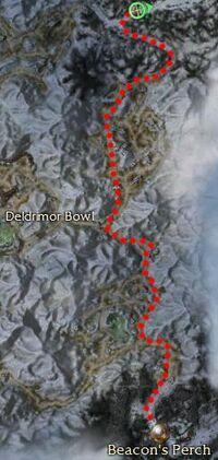 Beacon's Perch to Anvil Rock