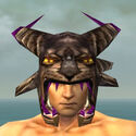 Warrior Charr Hide Armor M dyed head front
