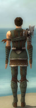 Ranger Elite Studded Leather Armor M gray back