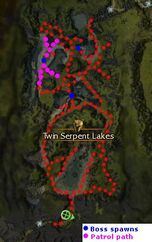 Twin Serpent Lakes - Vanquished ( tips & bosses)