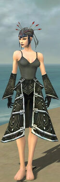 Necromancer Fanatic Armor F gray arms legs front