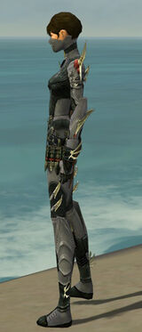 Assassin Elite Imperial Armor F gray side