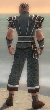 Monk Elite Judge Armor M gray back