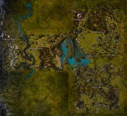 Charr Homelands map