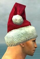 Stylish Yule Cap gray side alternate