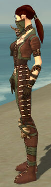 Ranger Krytan Armor F gray side