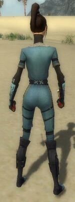 Zenmai Am Fah Armor F gray back