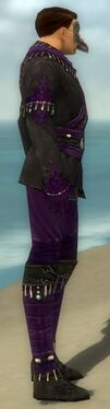 Mesmer Elite Luxon Armor M dyed side