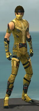 Assassin Canthan Armor M dyed front