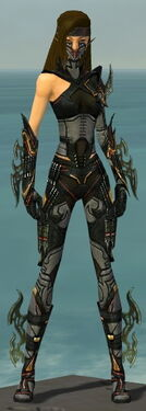 Assassin Elite Kurzick Armor F gray front