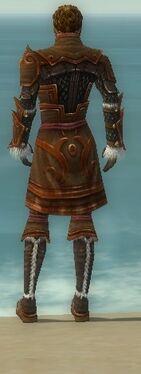 Ranger Elite Canthan Armor M dyed back