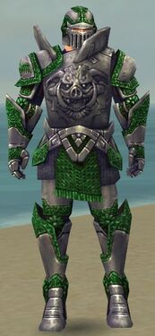Warrior Platemail Armor M dyed front
