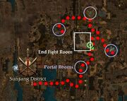 Sunjiang District mission map