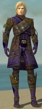 Ranger Elite Druid Armor M dyed front
