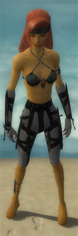 File:Assassin Obsidian Armor F gray arms legs front.jpg