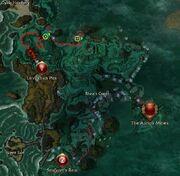 Incetol Devout of Depths map location