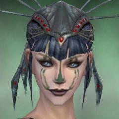 File:Necromancer Elite Sunspear Armor F green head front.jpg
