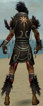 Necromancer Sunspear Armor M gray back