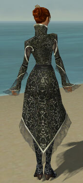 Elementalist Elite Canthan Armor F gray back