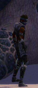 Assassin Luxon Armor M gray side