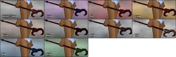 Crimson Claw Scepter colored