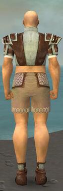 Monk Censor Armor M gray chest feet back