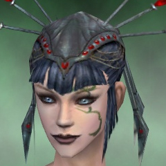 File:Necromancer Vabbian Armor Female Headgear green front.jpg