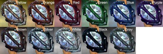 Diamond Aegis Dye Chart