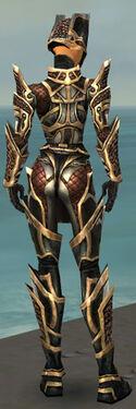 Warrior Elite Kurzick Armor F dyed back