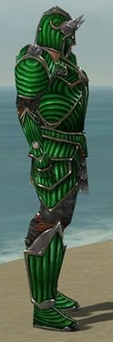 Warrior Wyvern Armor M dyed side