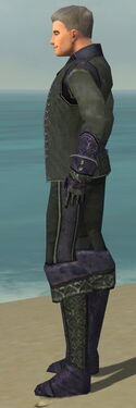 Mesmer Elite Elegant Armor M gray side