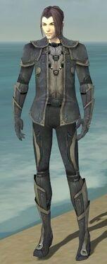 Elementalist Ascalon Armor M gray front