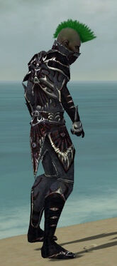 Necromancer Elite Necrotic Armor M dyed side
