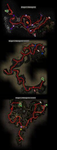 Rragar's Menagerie Map
