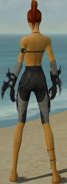 Assassin Kurzick Armor F gray arms legs back