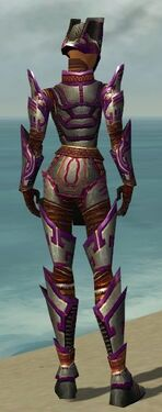 Warrior Asuran Armor F dyed back