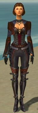 Mesmer Elite Rogue Armor F dyed front