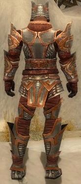 Warrior Asuran Armor M dyed back
