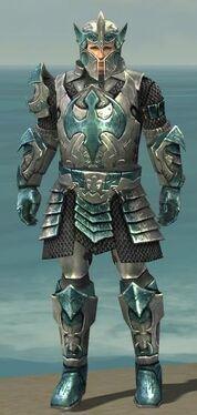 Warrior Elite Templar Armor M dyed front