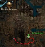 Waeng undercity location