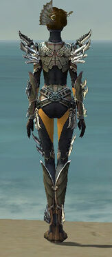 Assassin Asuran Armor F gray back