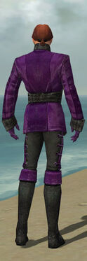 Mesmer Shing Jea Armor M dyed back