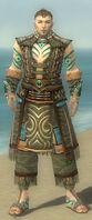 Monk Elite Luxon Armor M gray front