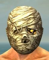 Mummy Mask gray front