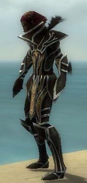 Necromancer Elite Sunspear Armor M dyed side