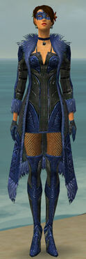 Mesmer Kurzick Armor F dyed front