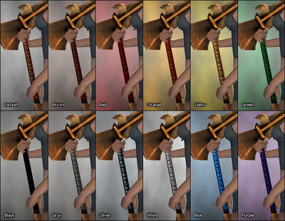 Runic Hammer dye chart