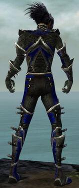 Necromancer Kurzick Armor M dyed back