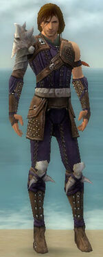 Ranger Studded Leather Armor M dyed front